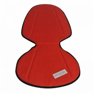 Kussentje/Inlay Mini Bright Red Solid with Black
