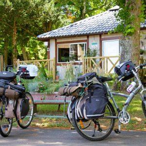 Als God in Frankrijk; fietsen en kamperen in de Loire.